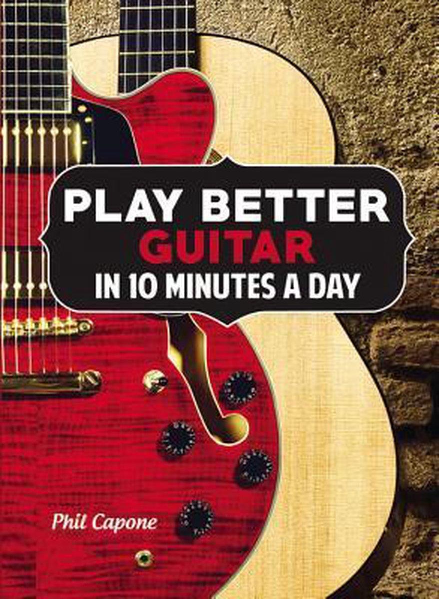 Learn Guitar Fretboard In 10 Minutes : learn, guitar, fretboard, minutes, Bol.com, Better, Guitar, Minutes, Capone, 9780785831907, Boeken