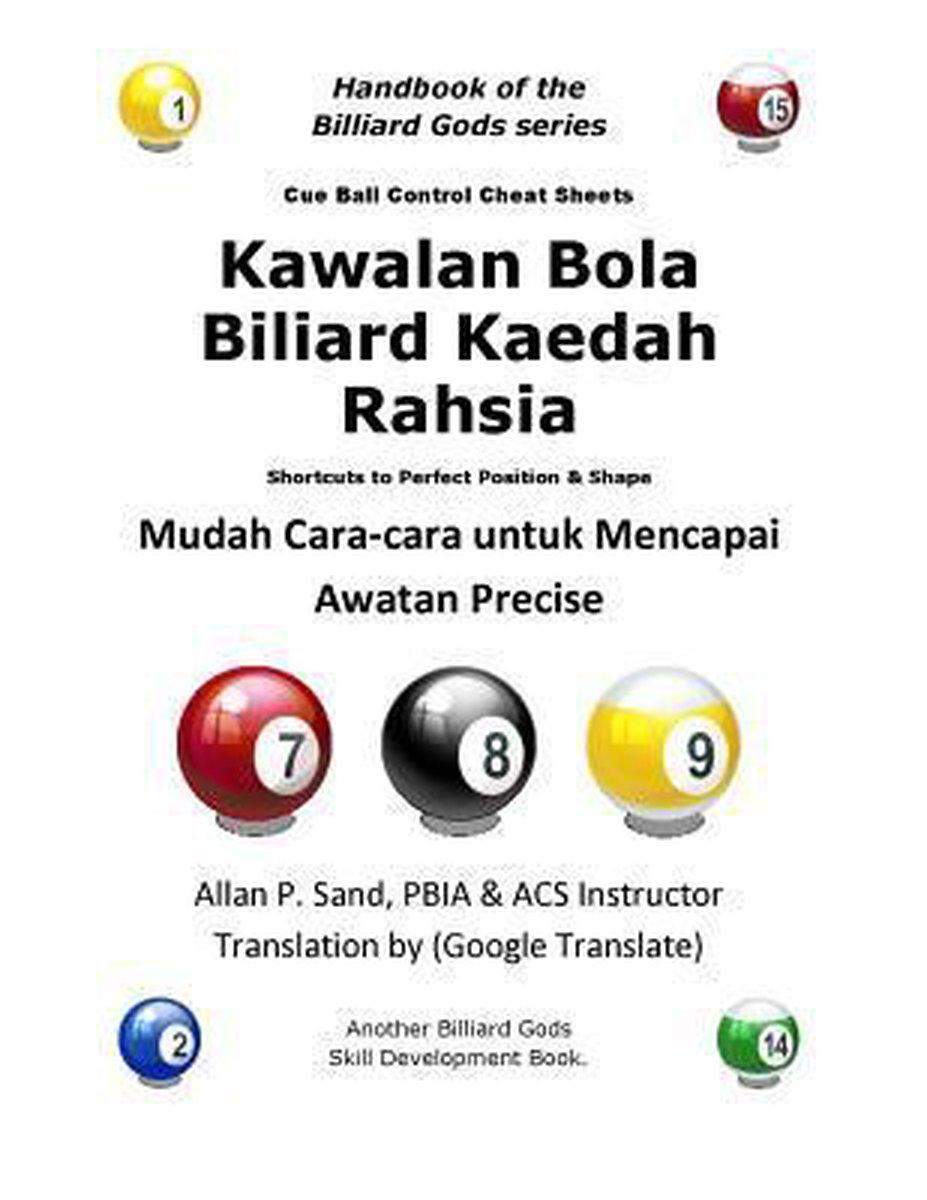 Bola Billyard : billyard, Bol.com, Kawalan, Biliard, Kaedah, Rahsia,, Allan, 9781625051875, Boeken