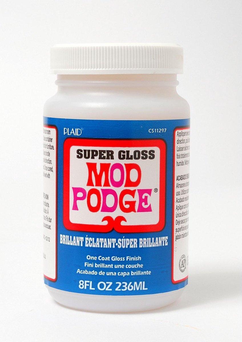 Mod Podge Paint Sealer : podge, paint, sealer, Bol.com, Podge, Super, Gloss,, Hoogglans,, Alles-in-Eén, Decoupage, Lijm,, Vernis, Afwerking,...