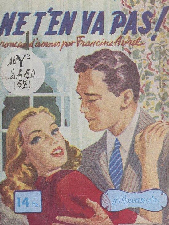 Ne T En Va Pas : Bol.com, (ebook),, Francine, Avril, 9782402244374, Boeken