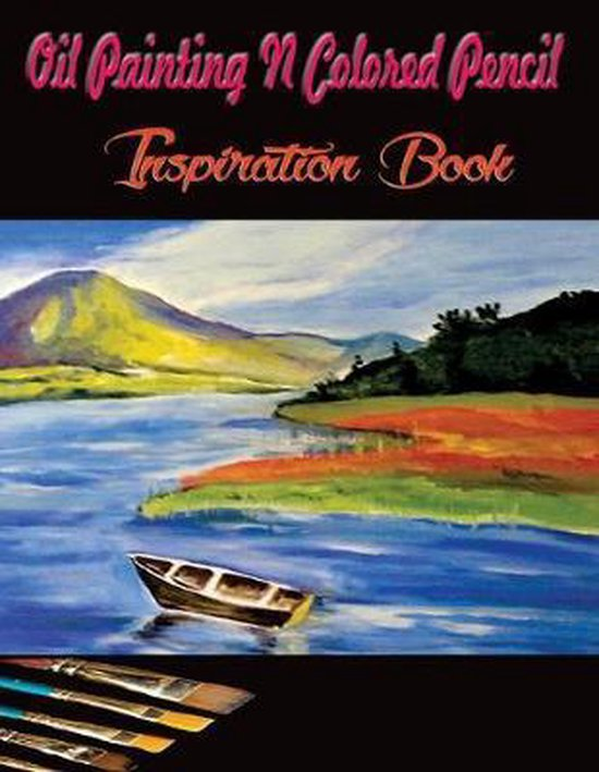 Oil Painting Books : painting, books, Bol.com, Painting, Colored, Pencil, Inspiration, Book:, Books, Painting...
