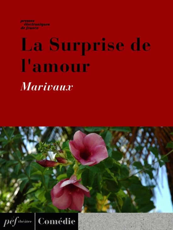 La Surprise De L Amour : surprise, amour, Bol.com, Surprise, L'amour, (ebook),, Marivaux, 9791022101202, Boeken