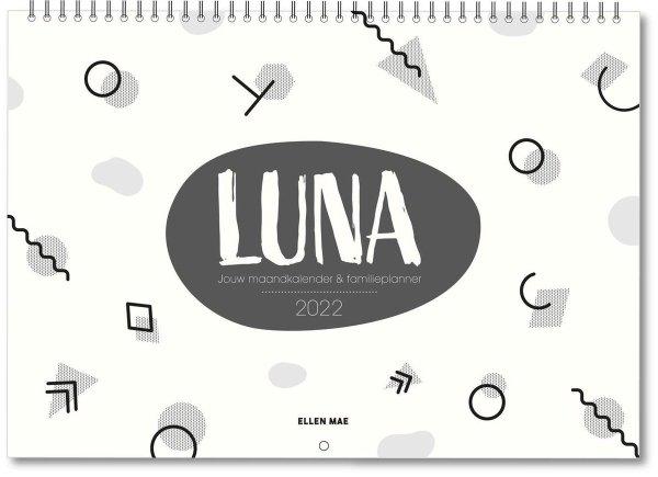 De luna familieplanner is een fijne maandkalender.