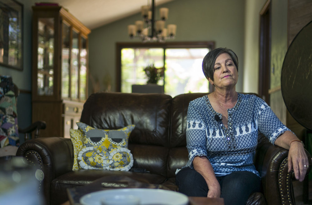 Diane Gokey has painful memories of a violent and chaotic childhood with her mother, Genevieve Lucchesi.