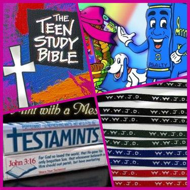 Psalty, WWJD, Testamints, Teen Study Bible, BUZFEED - image