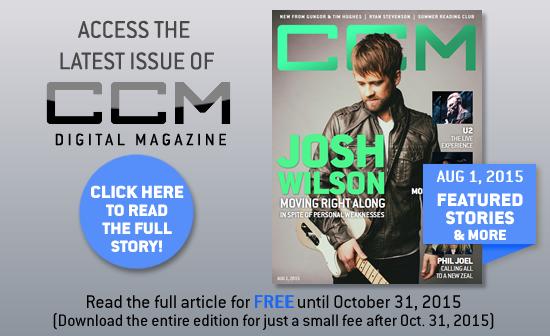 Josh Wilson, CCM Magazine - image