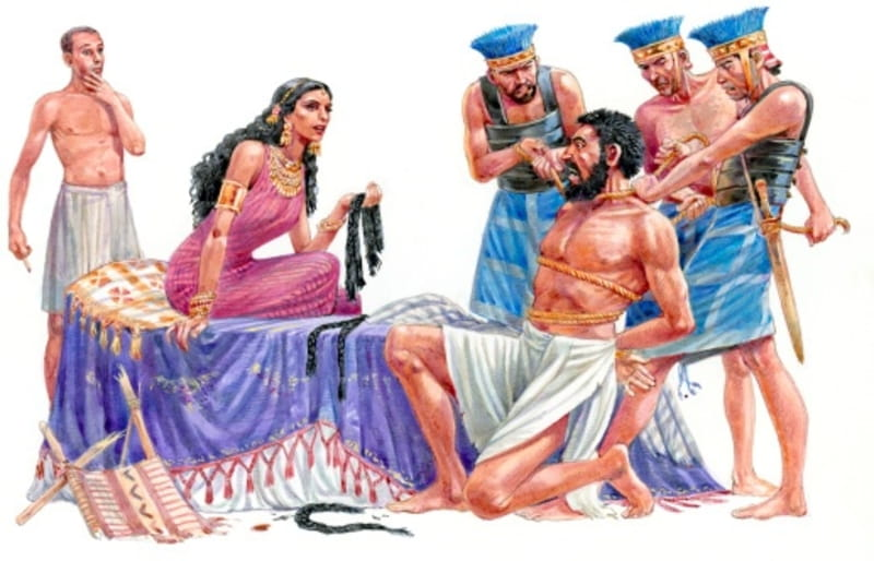 Image result for samson and delilah