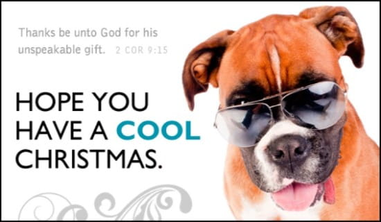 Cool Christmas ECard Free Christmas Cards Online