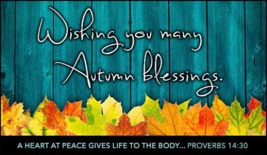 Christian Wallpaper Fall Happy Birthday Autumn Blessings Ecard Free Autumn Cards Online