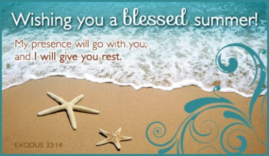 Blessed Summer ECard Free Summer Cards Online