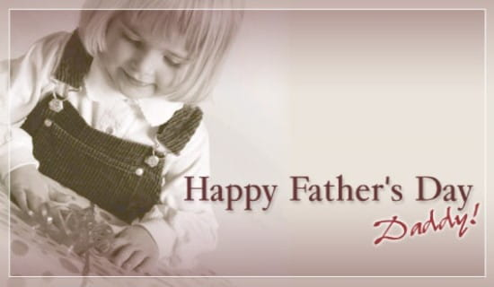 Fathers Day Daughter ECard Free Father's Day Cards Online