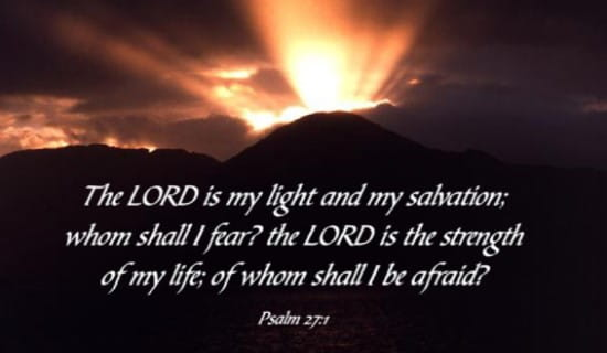 Sorry Quotes Wallpaper Download Free Psalm 27 1 Ecard Email Free Personalized Scripture