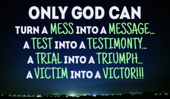 Free Only God Can Do EVERYTHING! ECard EMail Free