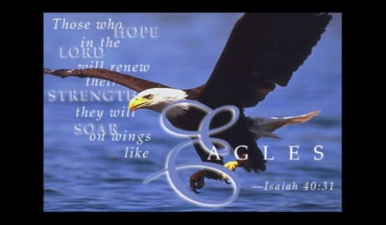 Free Wings Of Eagles ECard EMail Free Personalized