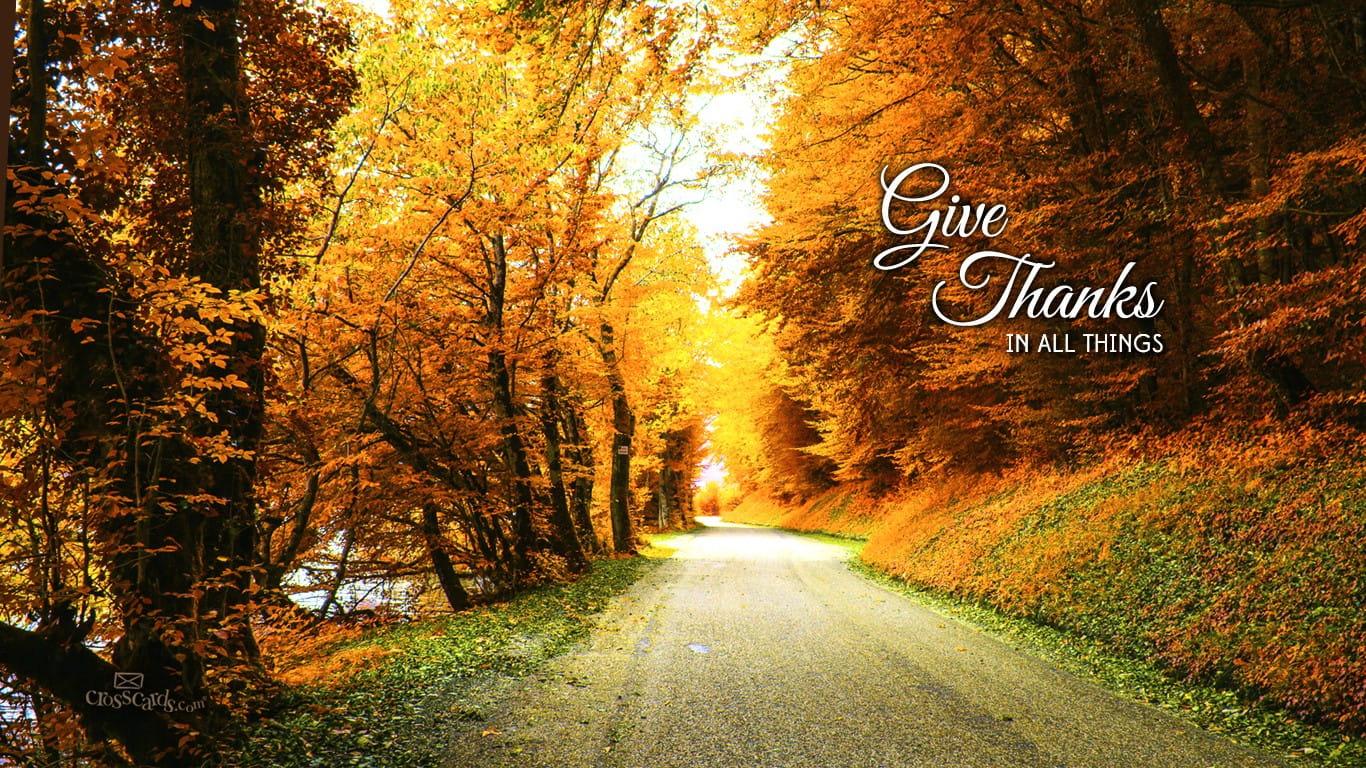 Fall Scripture Iphone Wallpaper Give Thanks Desktop Wallpaper Free Backgrounds