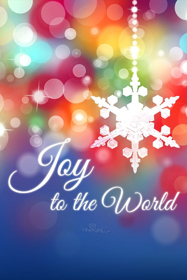 December 2014 Joy To The World Desktop Calendar Free