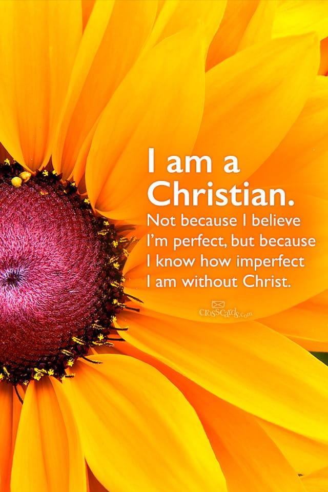Fall Scripture Iphone Wallpaper I Am A Christian Wallpaper Free Flowers Desktop Backgrounds