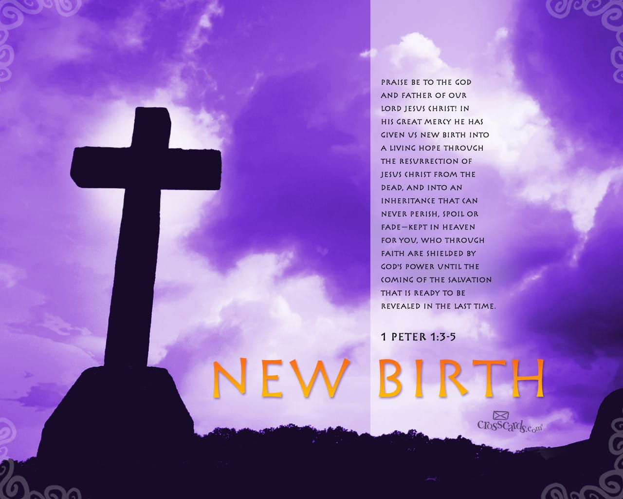 New Birth 1 Peter 13 5 Bible Verses And Scripture