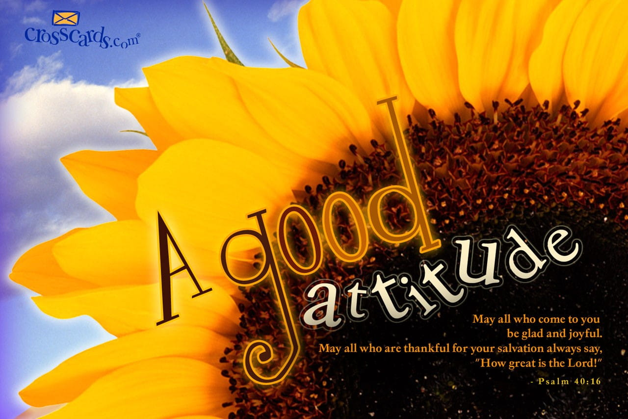 Free Animated Fall Wallpaper A Good Attitude Bible Verses And Scripture Wallpaper For