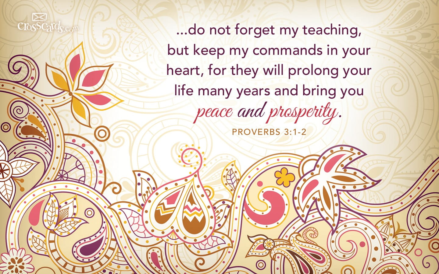 Thank You Wallpaper Animated Proverbs 3 1 2 Bible Verses And Scripture Wallpaper For
