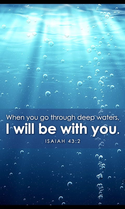 Isaiah 43 2 Bible Verses And Scripture Wallpaper For