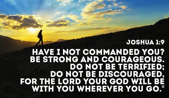 Free Desktop Wallpaper Scripture Fall Inspiring Free Don T Be Discouraged God S Got Your Back Ecard