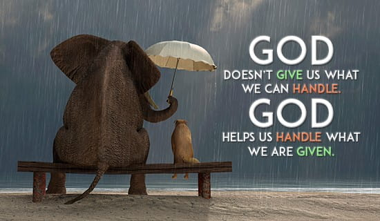 God Will Always Be There For You ECard Free Facebook