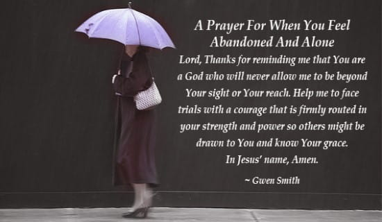Free Animated Fall Wallpaper A Prayer For The Abandoned Ecard Free Facebook Ecards