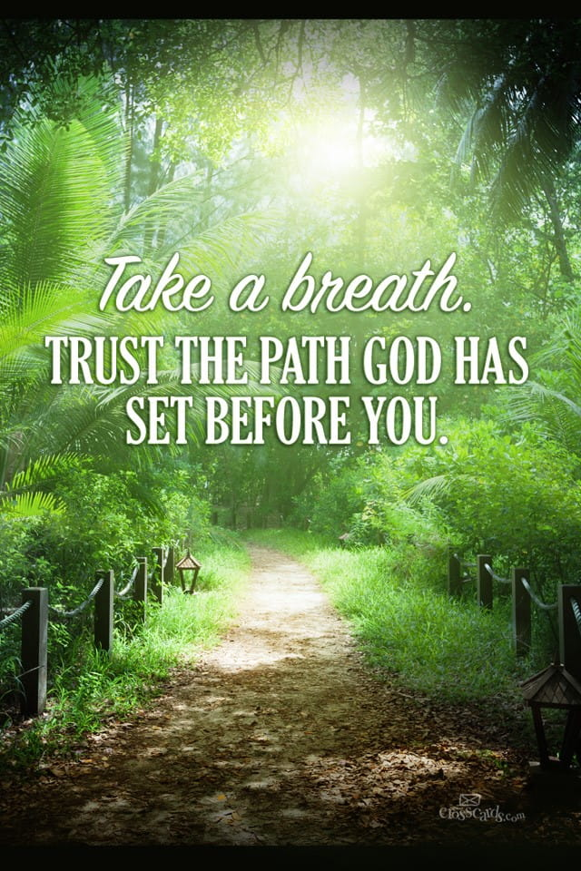 Quotes For Iphone 6 Wallpaper Trust God S Path Desktop Wallpaper Free Backgrounds