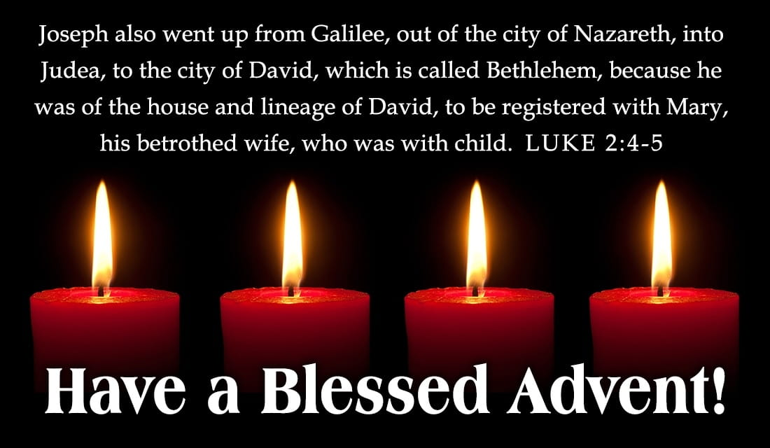 Blessed Advent ECard Free Christmas Cards Online
