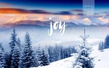 January 2016 - Choose Joy Desktop Calendar- Free