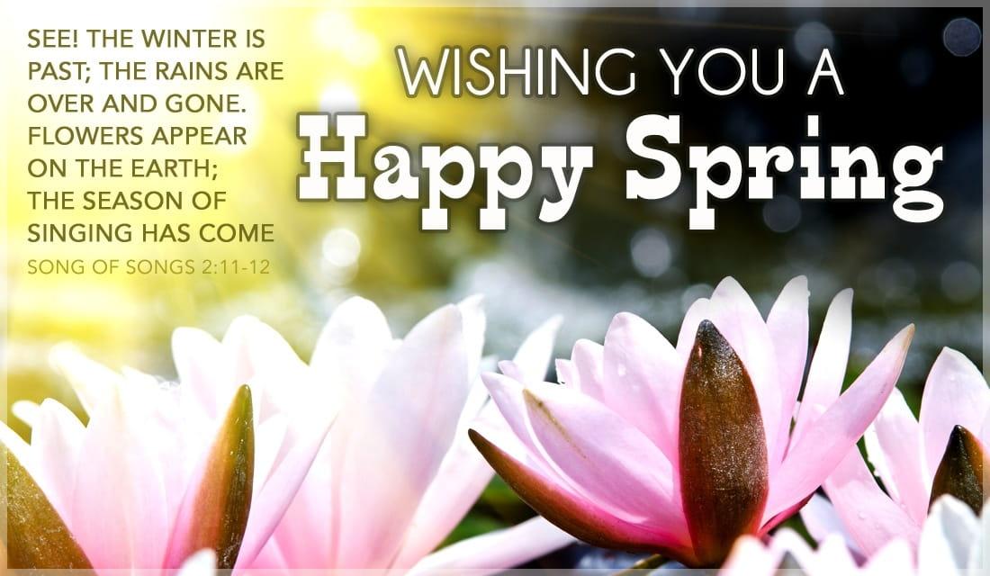 Happy Spring ECard Free Spring Cards Online