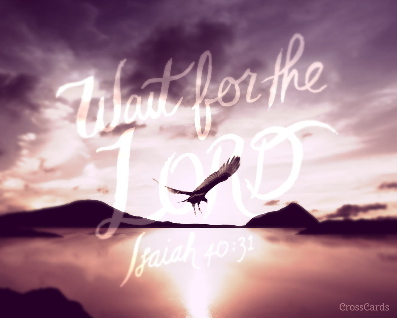 Free Desktop Wallpaper Scripture Fall Inspiring Wait For The Lord Isaiah 40 32 Bible Verses And