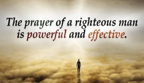 effective prayer works