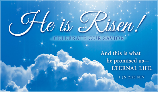 Free 1 John 225 ECard EMail Free Personalized Easter