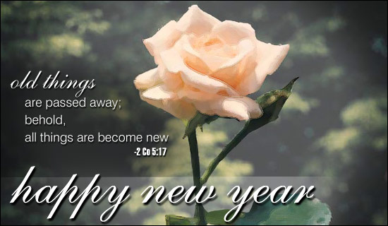 Happy New Year - Becoming New