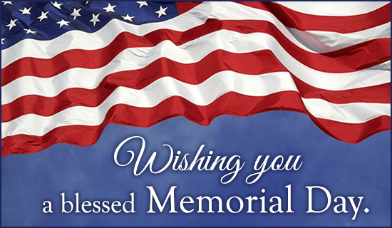 Free Blessed Memorial Day eCard  eMail Free Personalized Memorial Day Cards Online