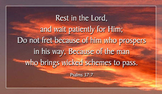 Free Rest In The Lord ECard EMail Free Personalized
