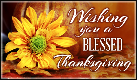 Blessed Thanksgiving