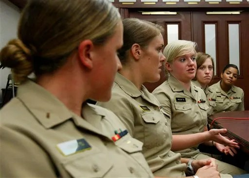 Life on a Submarine First female officers on subs feel