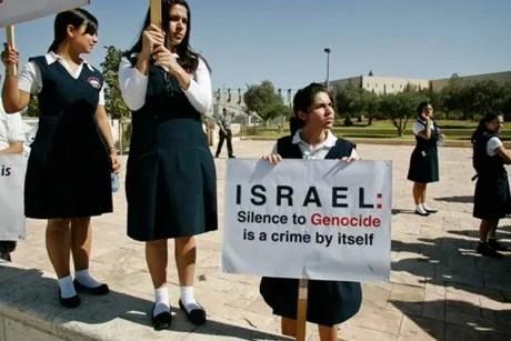 israel denies armenian genocide