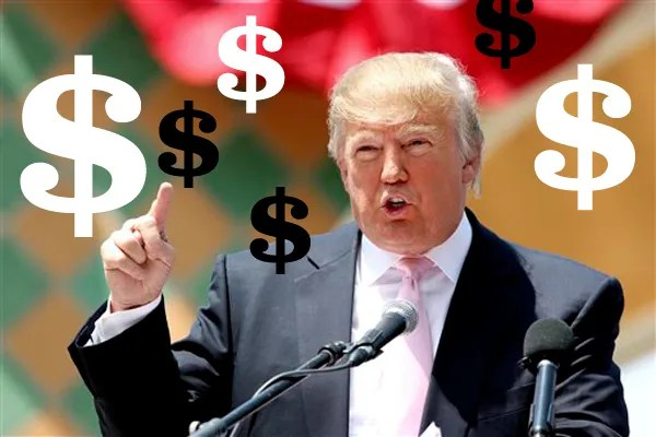 Image result for donald trump rich