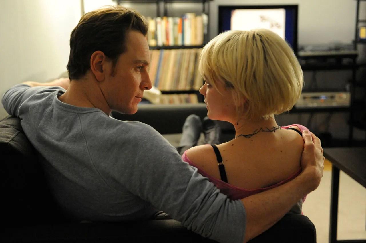 MIchael Fassbender and Carey Mulligan in Shame (2007)