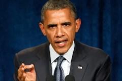 Obama the Warrior (Credit: AP)
