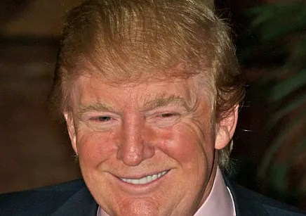 Donald Trump's double combover