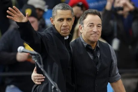 Bruce Springsteen for Obama:
