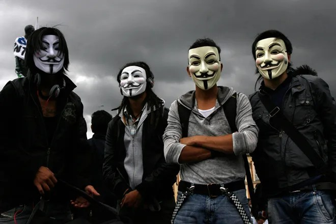 Anonymous reflects on a frantic and historic year