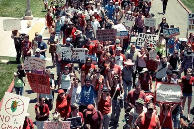 Up to 2 million march against Monsanto