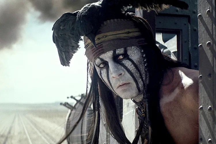 Image result for johnny depp in the lone ranger