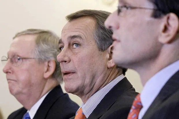 GOP's white-on-white war: Shutdown ruptures party's all-white coalition